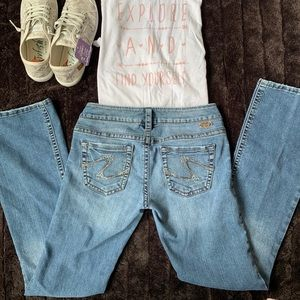 Vintage Tuesday Bootcut Silver Jeans